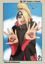 Naruto 357 Deidara vs Sasuke