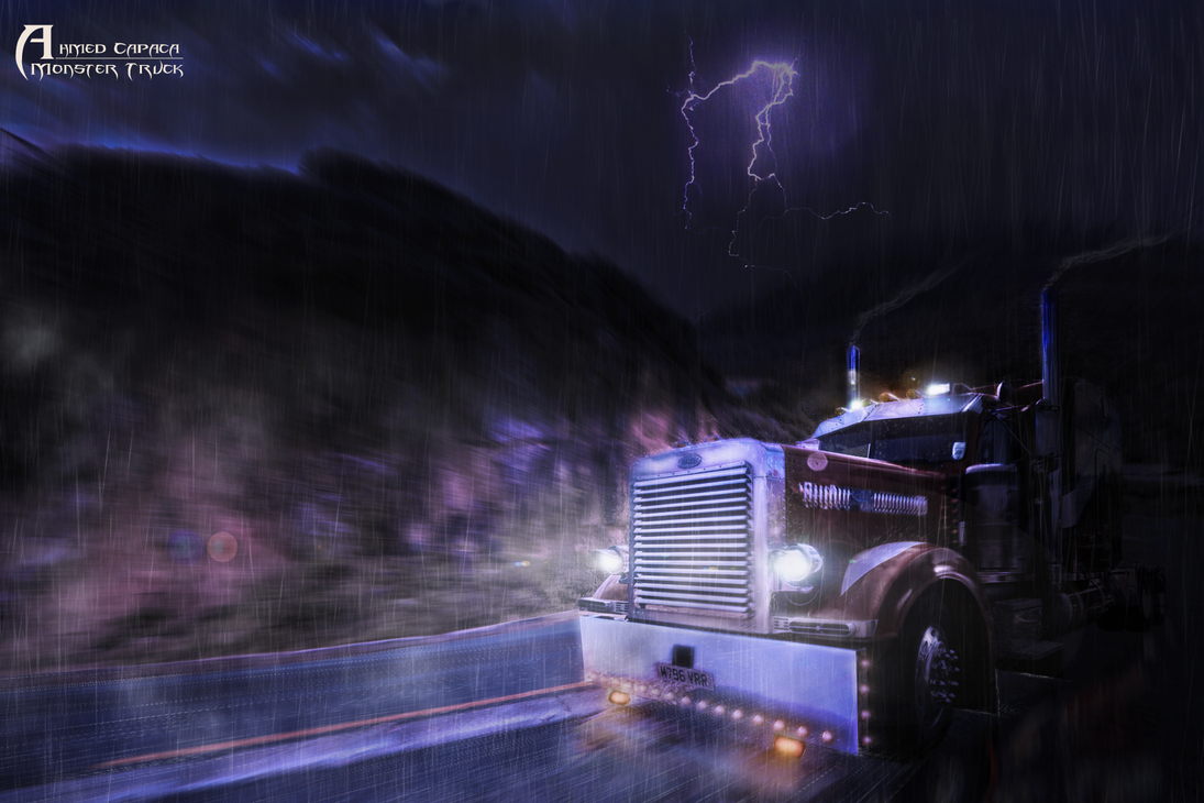 Monster Truck by ahmedcapaca