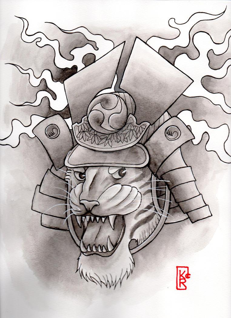 Shadow's Fox ( tattoo ). The_last__tiger__samurai__by_shadowsfoxshop-d9mct6n