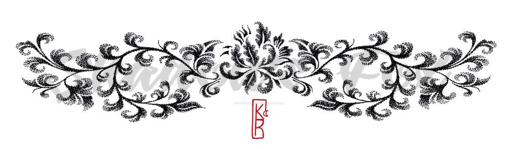 Shadow's Fox ( tattoo ). Dotwork_floral_underboobs__by_shadowsfoxshop-d9o10fw