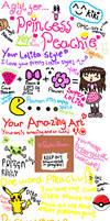 Princess Peachie's gift by Voodoo-Grrrl