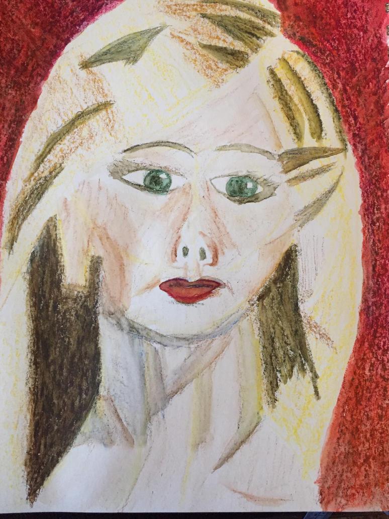 Buffy inspired portrait  by torrilin