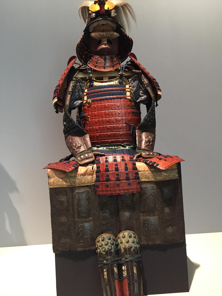 Museo Stibbert samurai armor #2 by torrilin