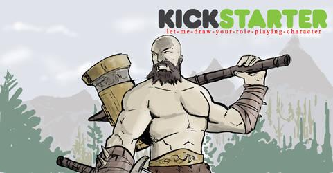 Kickstarter promo piece