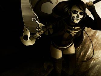 Grim Reaper Noh by skullamity