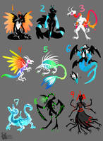 Eclipse Beasts (1/9 Open) by CannibalHarpy