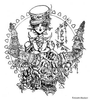 Tribal Darkness Dokuro