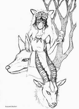 FanArt Princess Mononoke