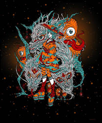 Yokai tokyo traditional dragons