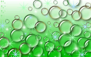Sookie Green Bubble Wallpaper by sookiesooker