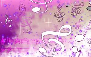 Sookie Purple Music Wallpaper by sookiesooker