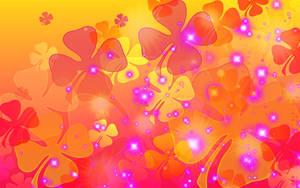 Sookie Sunset Clover Wallpaper by sookiesooker