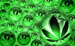 Sookie Cannabis Orb Wallpaper