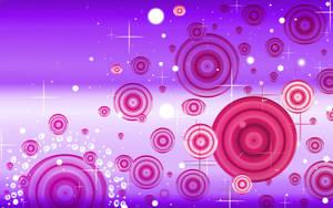Sookie Pink Purple Ripple Wall by sookiesooker