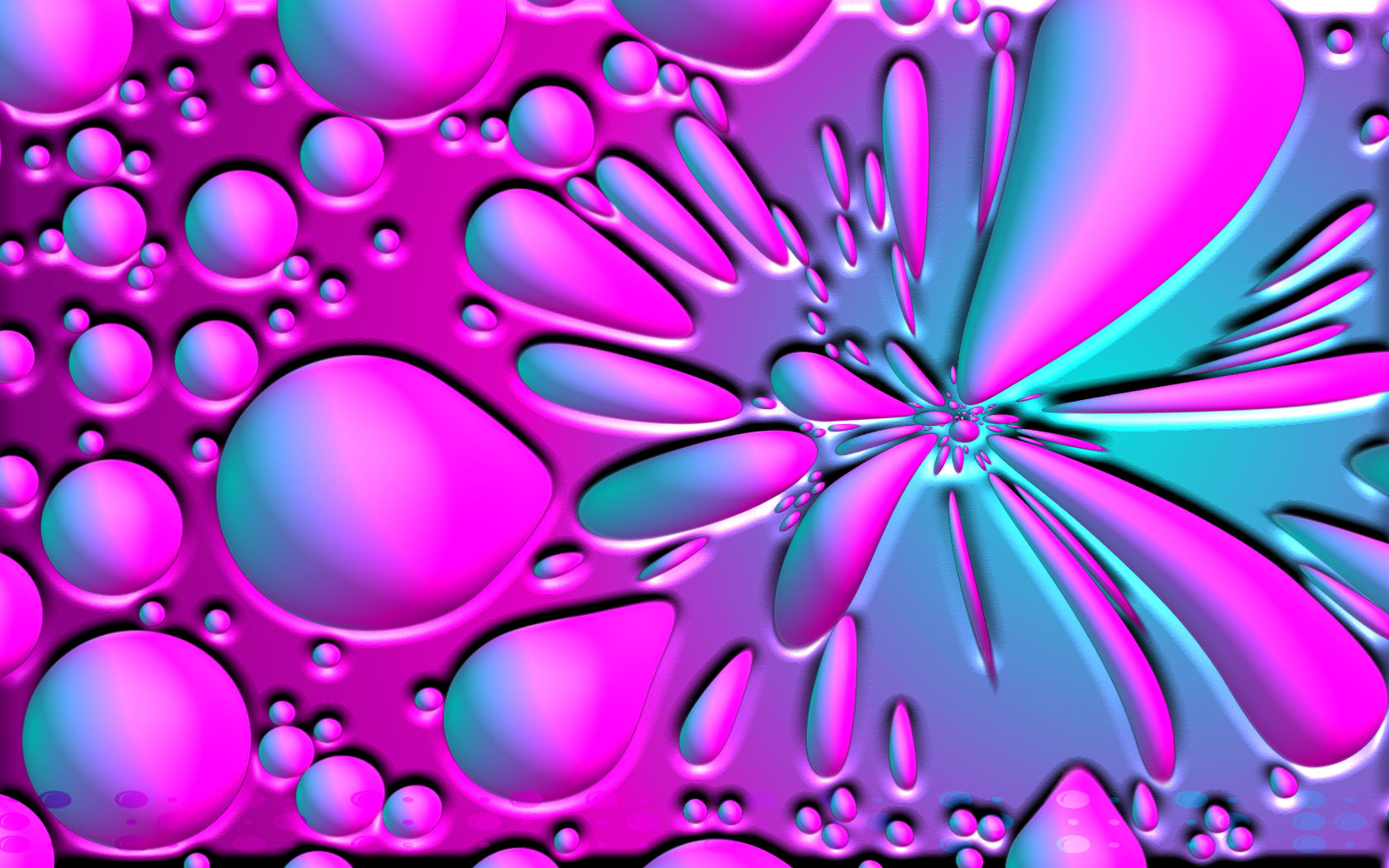 cool wallpapers blue and pink - photo #4