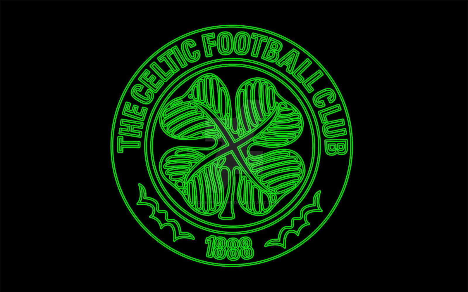 celtic fc neon glow by sookie by sookiesooker on deviantart