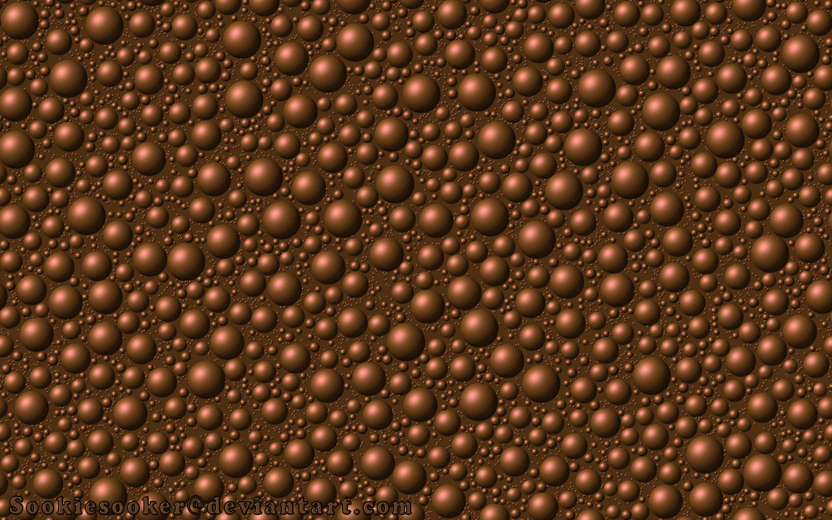 Chocolate Bubbles Wallpaper by sookiesooker