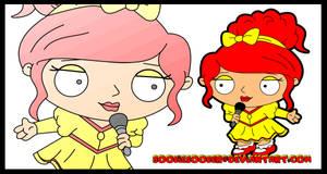 Stewie Griffin Red by Sookie