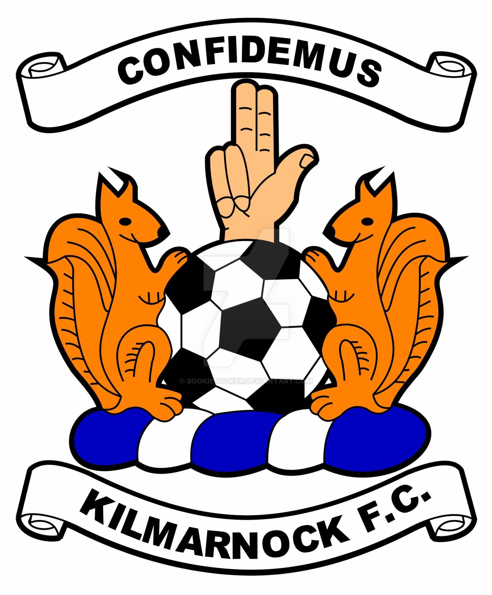 Kilmarnock FC Crest by Sookie