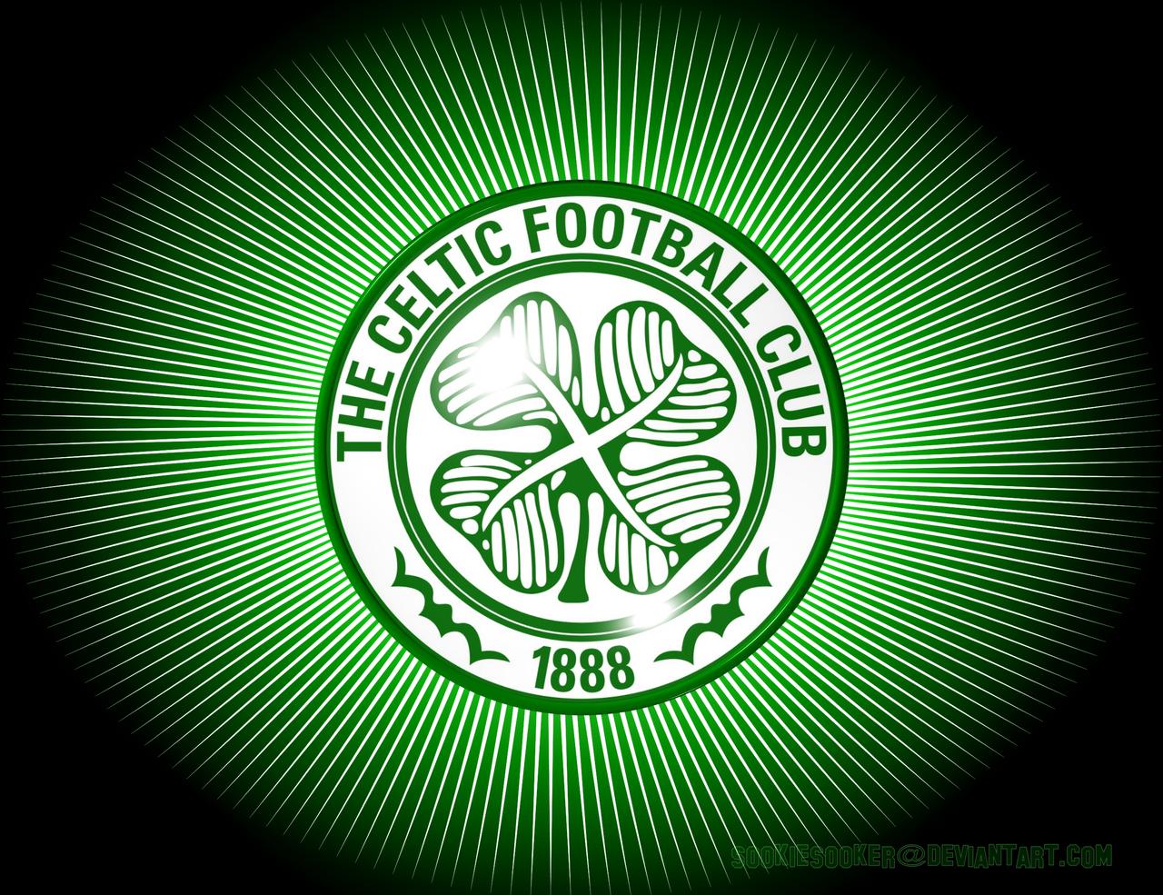 Celtic FC Spike Crest Wall by Sookiesooker by sookiesooker