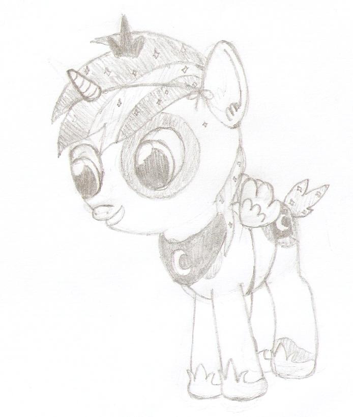 Pipsqueak as best princess by dredaich