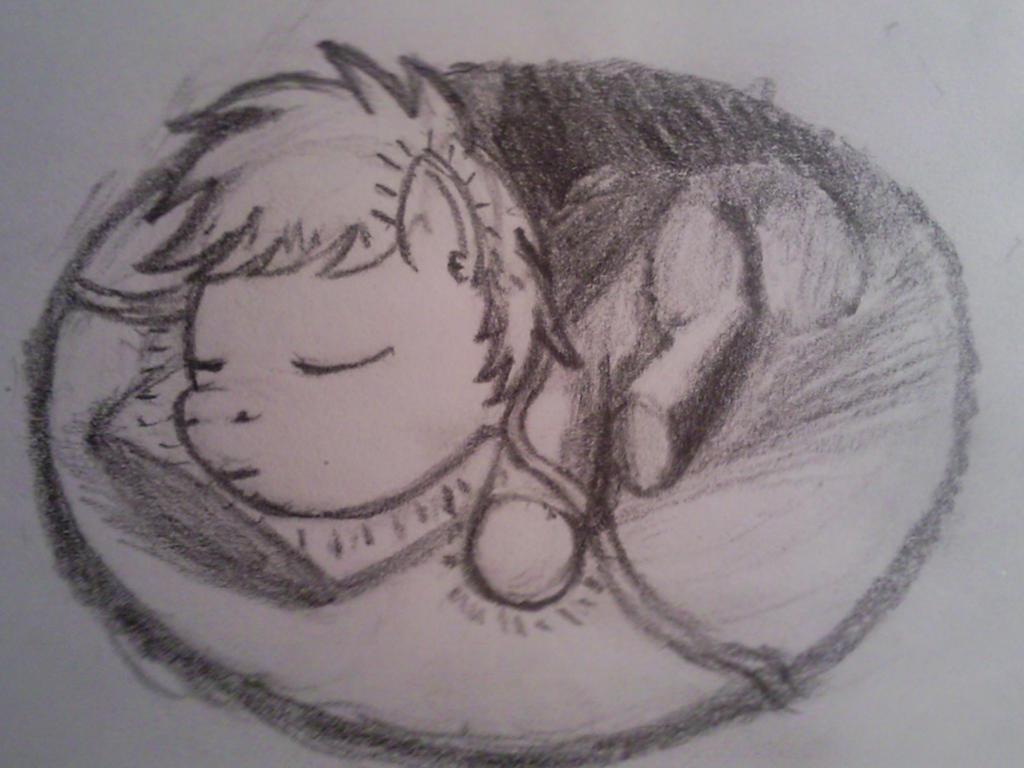 Sleeping Little Sun by dredaich