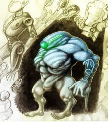 sketch-Golem by ebver