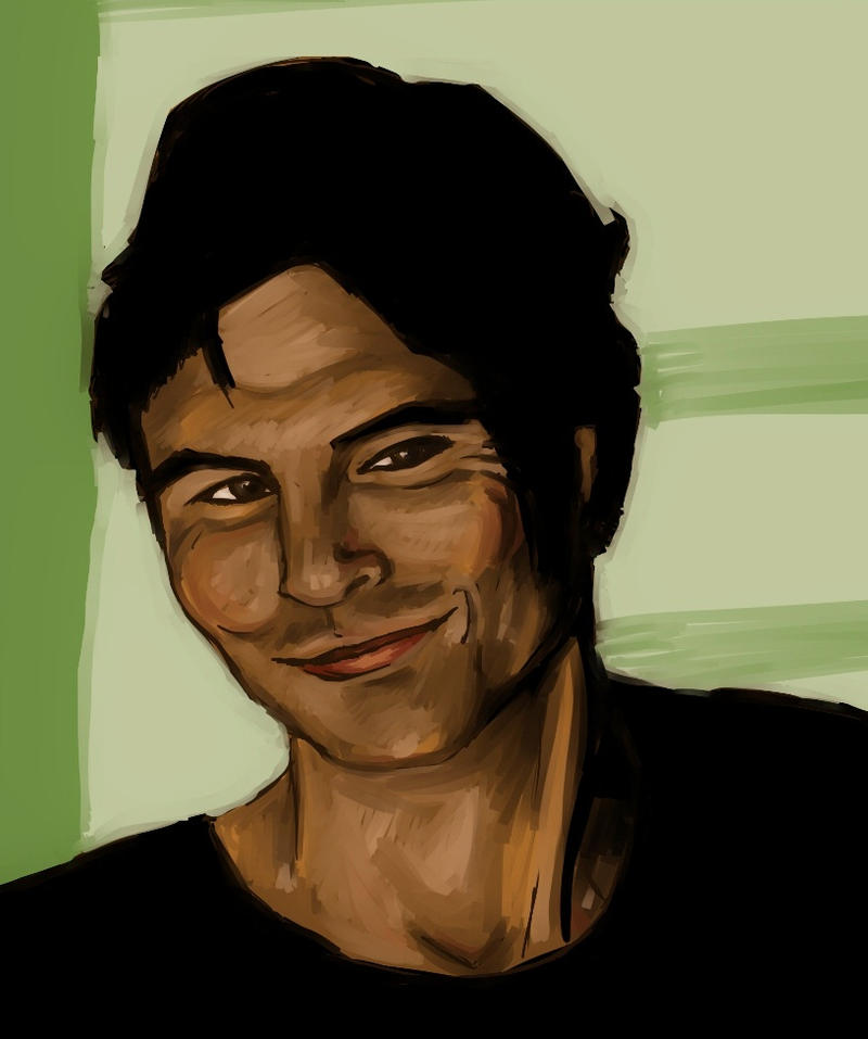 Ian Somerhalder by Amai-Rose