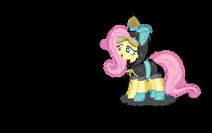 Fluttershy's Disguise by SonicRainPwn