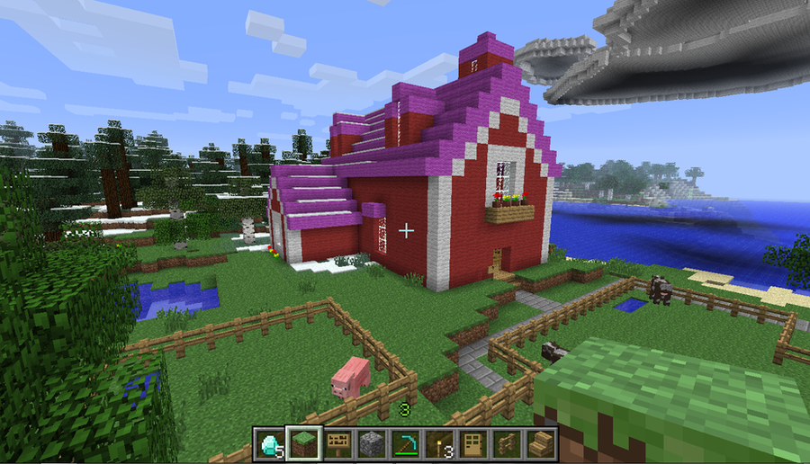 Applejacks Barn In Minecraft By SonicRainPwn On DeviantArt