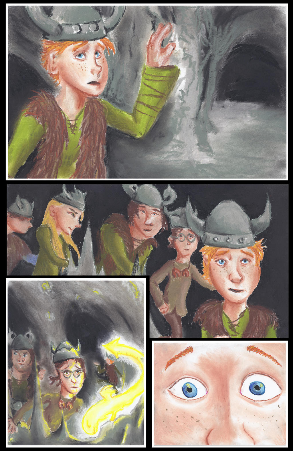 Httyd graphic novel book 1 prologue page 1 by zarakoda on deviantart httyd graphic novel book 1 prologue page 1 by zarakoda ccuart Image collections