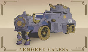 Armored Calesa