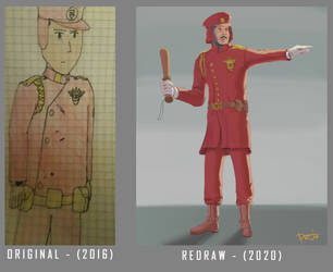 Redraw - Police Uniform by Eduj-Art