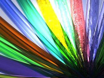 Glass Rainbow 2.0 by mercenarydragon