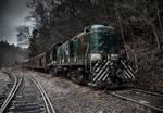 Ghost Train by mercenarydragon