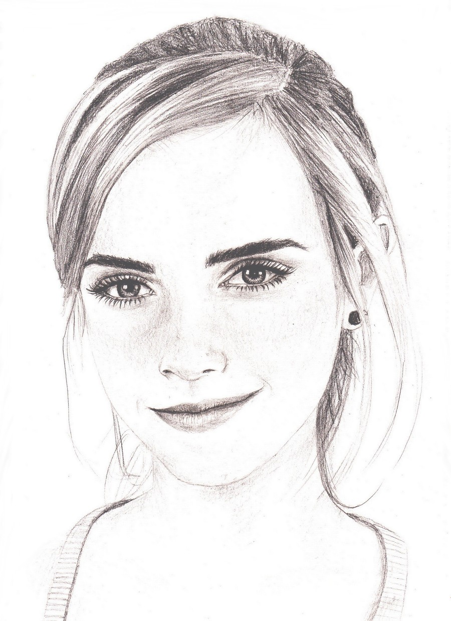 emma watson drawing by bree style on deviantart