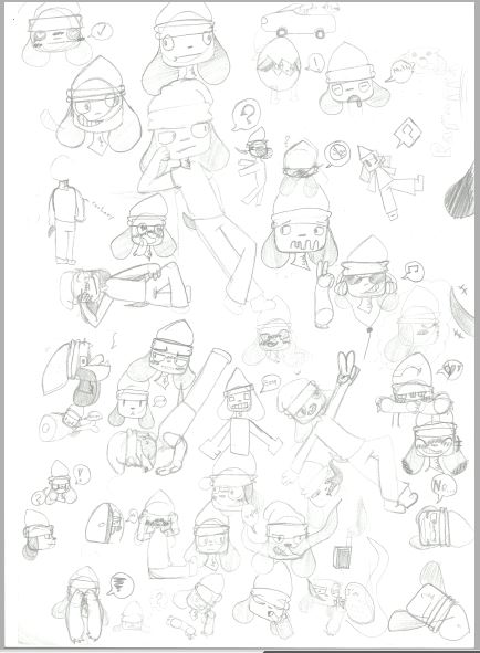 Parappas sketches by MexicanPyro3rd