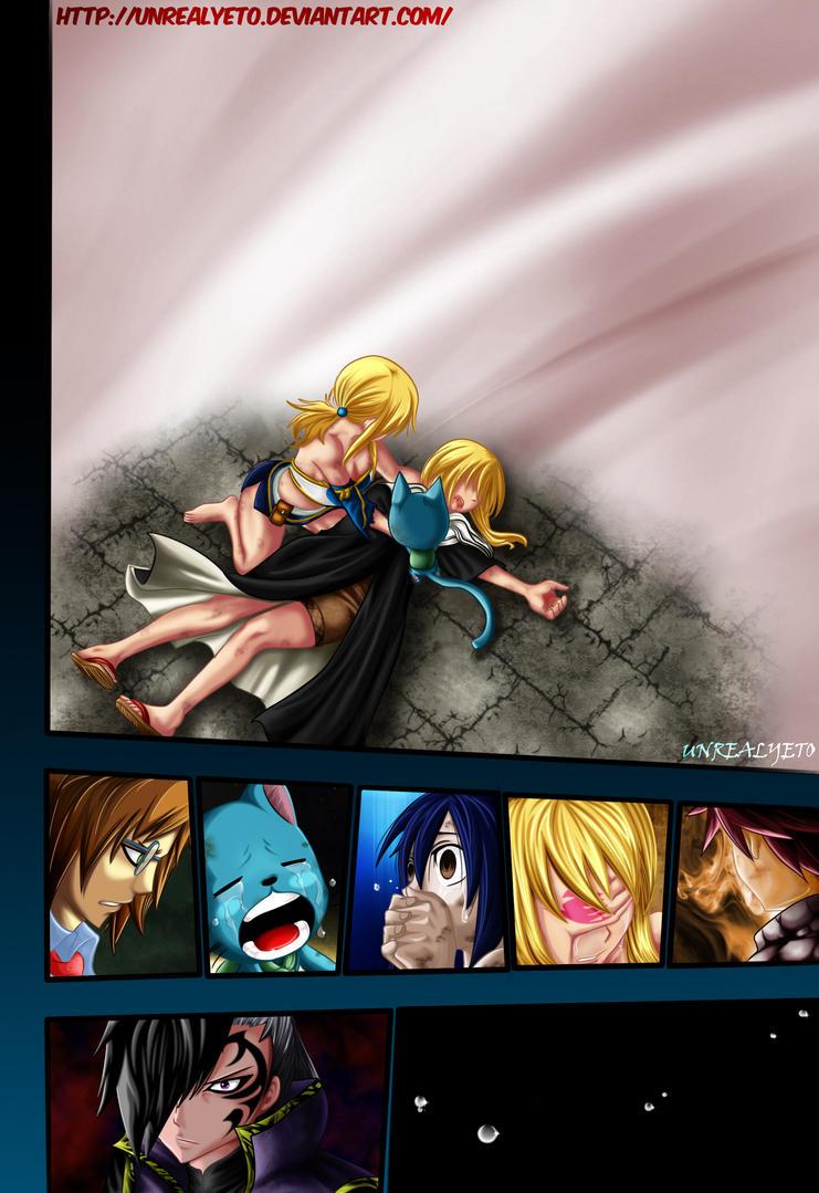 Lucy morte par Unrealyeto