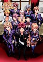 Shokugeki no Soma Color Cover Manga 121 by Unrealyeto