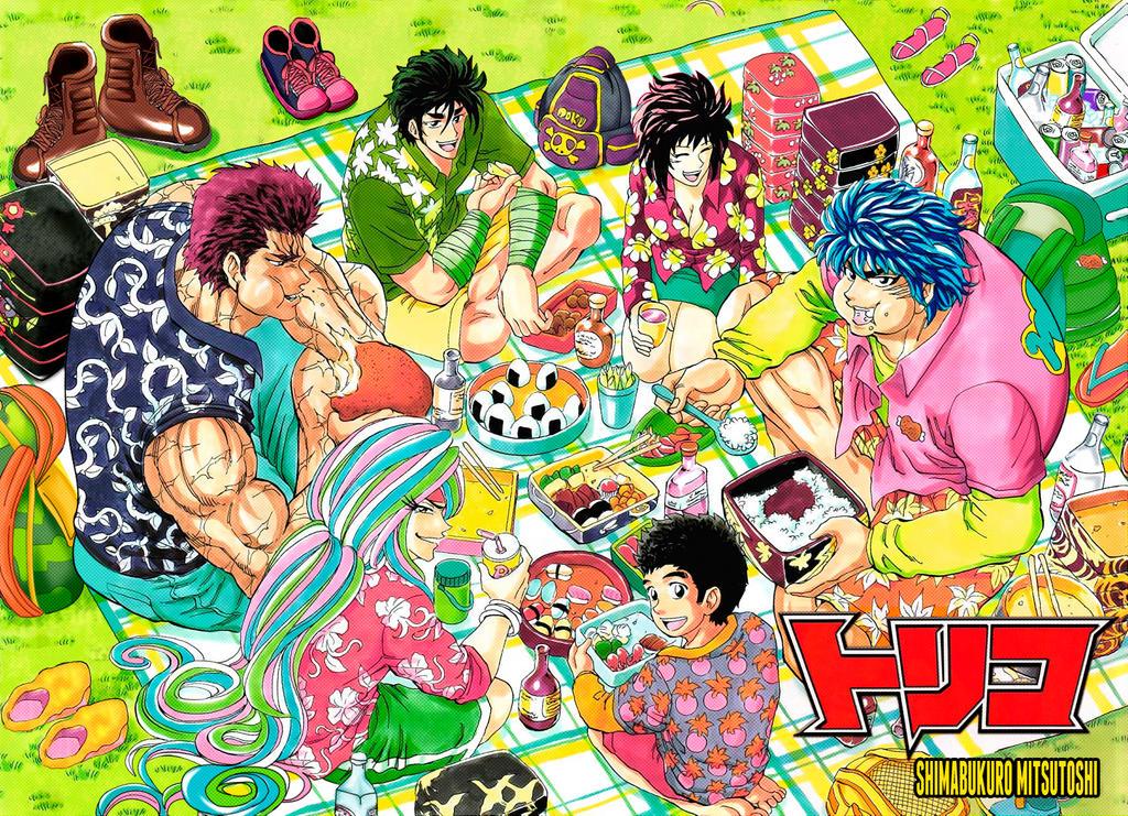 Toriko Color Cover Manga 326