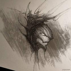 Spirit daily sketch / day 34