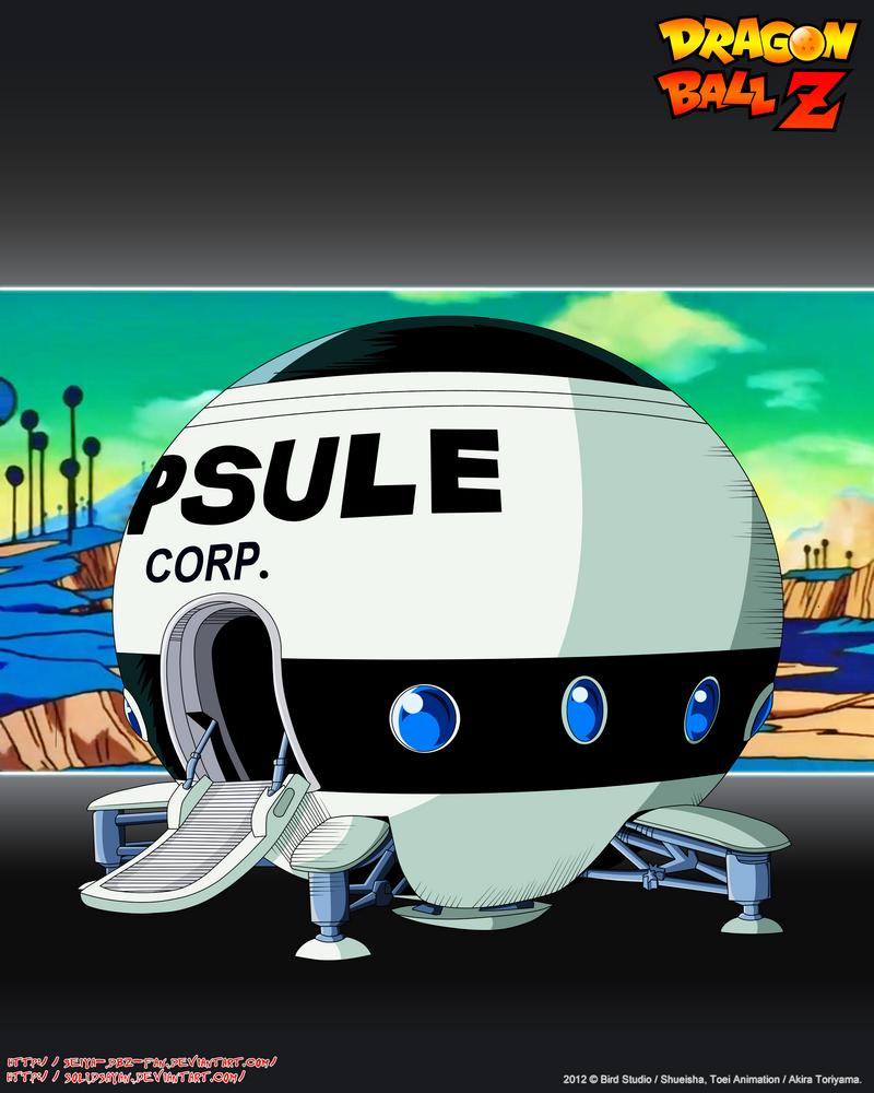 Spaceship Capsule Corp SFN By Seiya-Dbz-Fan On DeviantArt