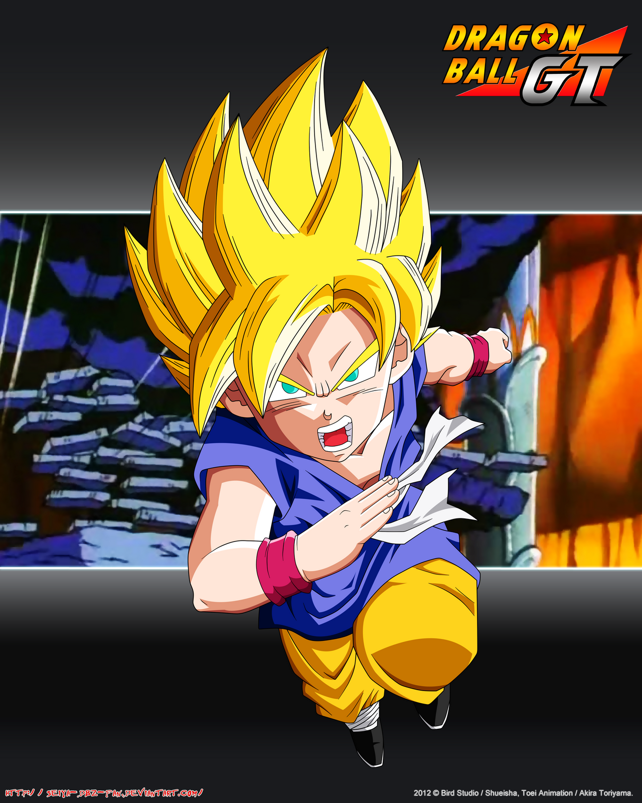 Kid Goku SSJ PL By Seiya Dbz Fan On DeviantArt