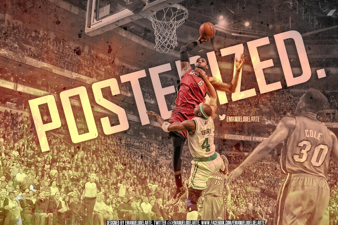 Lebron Posterized Jason Terry by EmanuelooElArte on DeviantArt