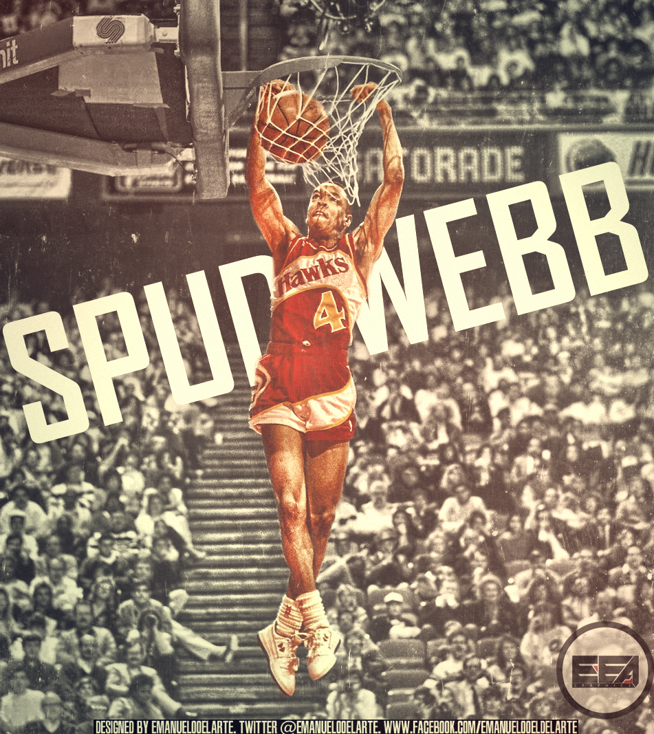 Spud Webb by EmanuelooElArte on DeviantArt