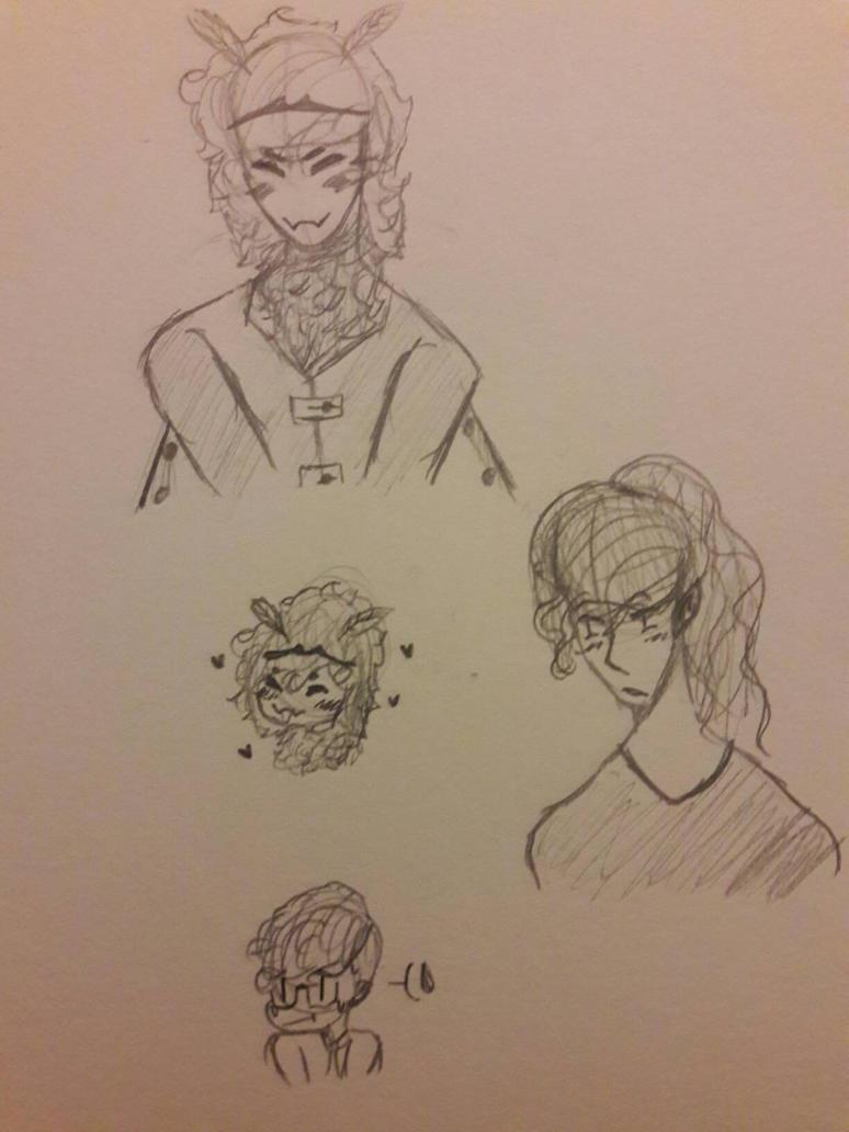 Random Doodles~ by PrincelyCat