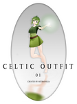 [ MMD Clothes ] Celtic Outfit 01 Free Download by Metra-Philia