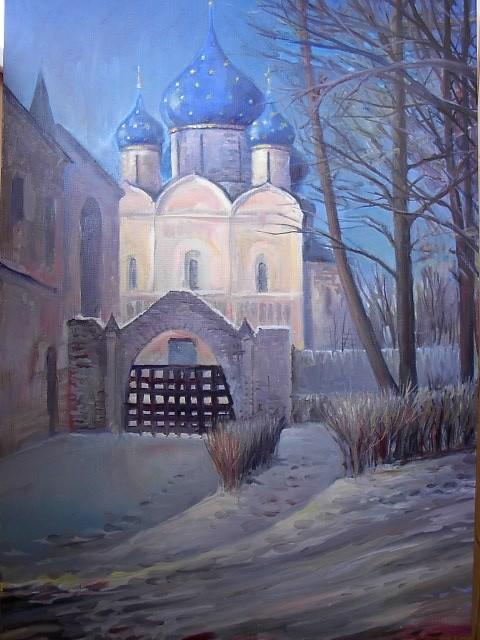 Christmas in Suzdal