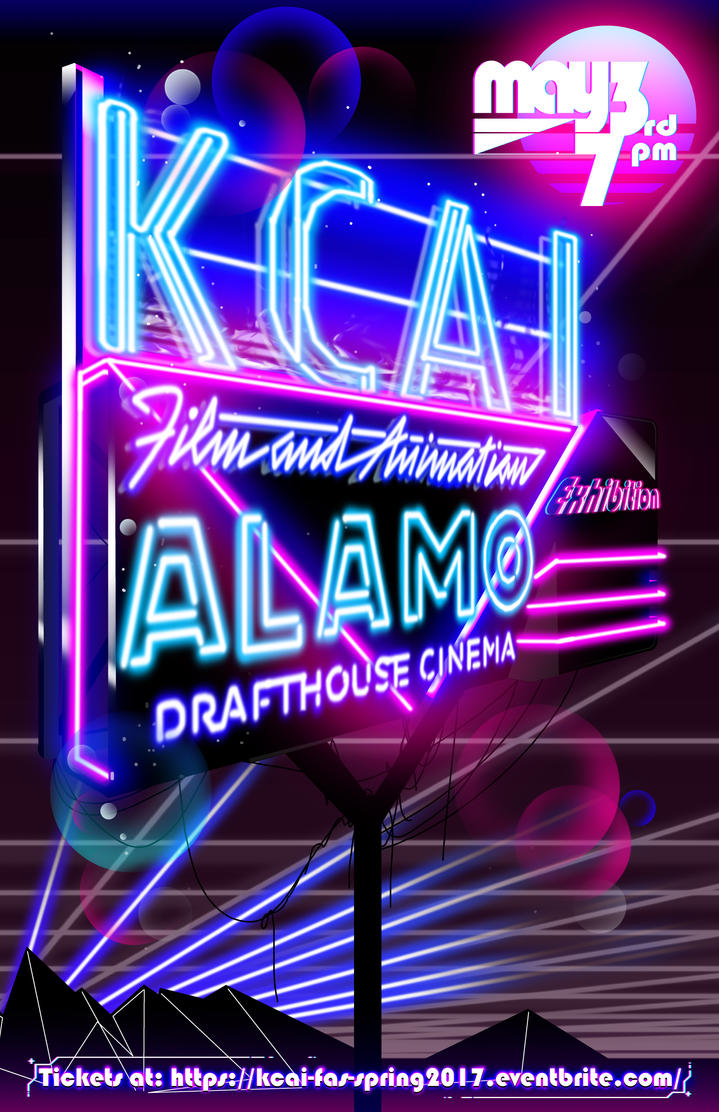 Neon Poster Desin Big Sign by Aluke1