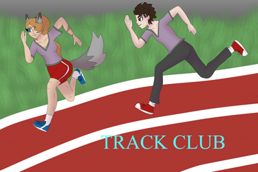 tRACK CLUB POSTER